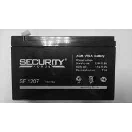 Аккумулятор Security Force SF 1207 12V  7 Ah