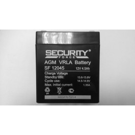 Аккумулятор Security Force SF 12045 12V 4.5 Ah